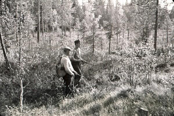 Johannes och Gösta Lundbäck Skogs